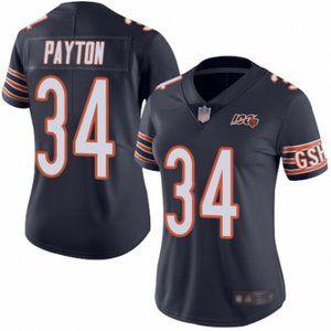 Women Bears Walter Payton 100th Season Jersey (3)